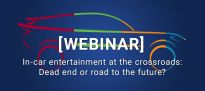 In car entertainment at the crossroads – Dead end or road to the future